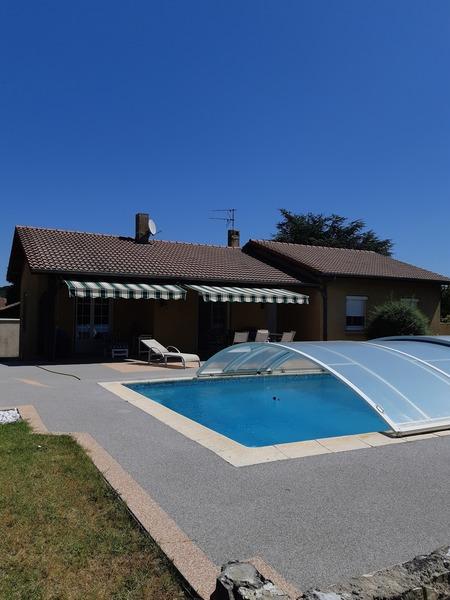 Villa sans vis à vis Granges-les-Beaumont 26