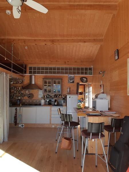 Tournon sur Rhône, maison bardage bois type loft Tournon-sur-Rhône 07