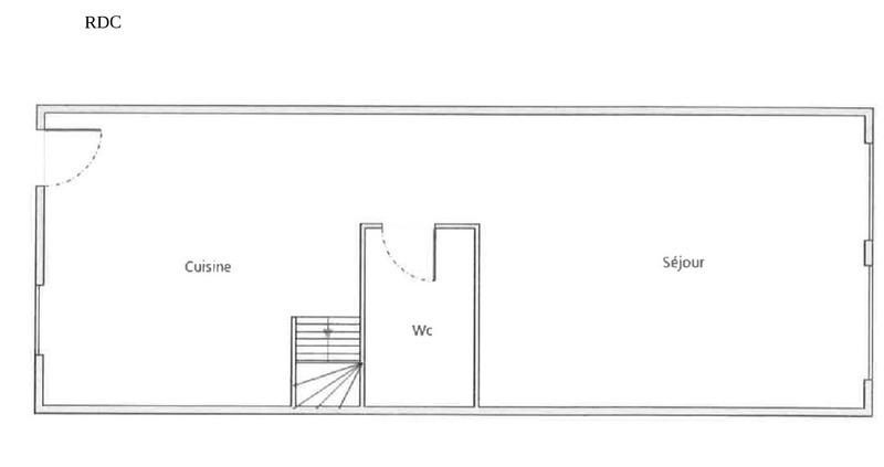 MAISON DE VILLE DE 88 M² SUR 3 NIVEAUX VENDU LOUEE Bourg-de-Péage 26