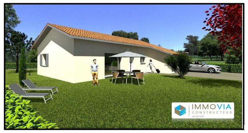 Villa à construire 3 chambres et jardin Romans sur Isére Romans-sur-Isère 26