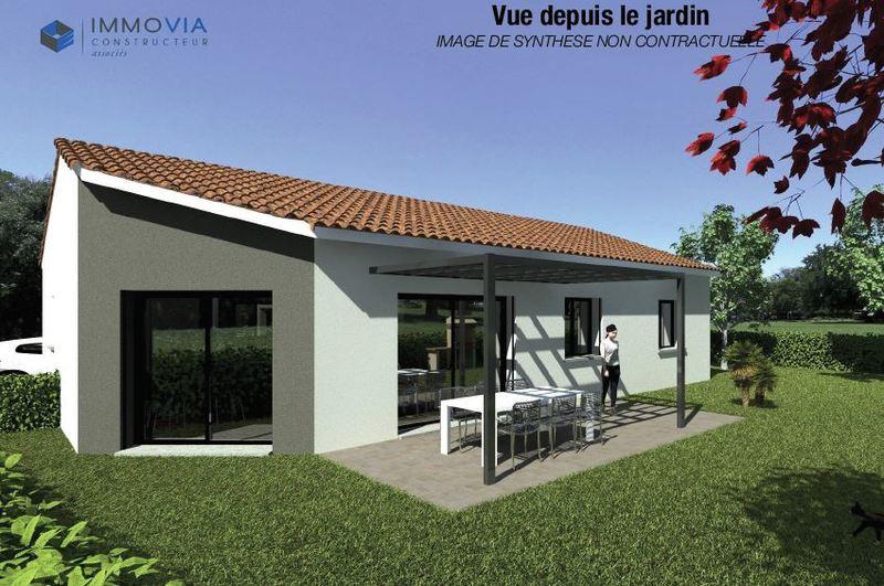 PROJET DE CONSTRUCTION D'UNE VILLA DE PLAIN-PIED DE 70 M² - 2 CHAMBRES Saint-Romans 38