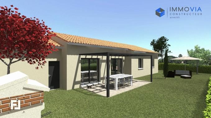 Projet de construction de Maison avec 4 Chambres exposition plein SUD Romans-sur-Isère 26